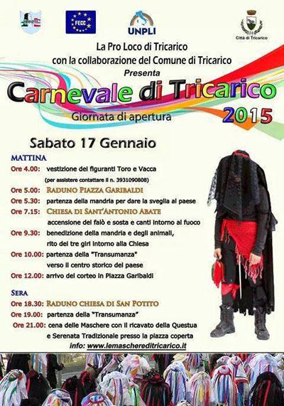 Carnevale a Tricarico