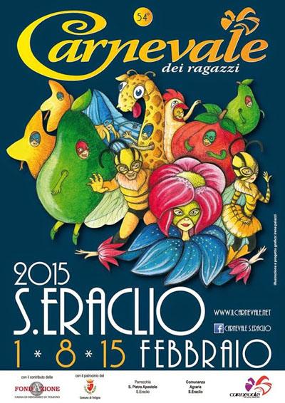 Carnevale dei Ragazzi a Sant'Eraclio di Foligno