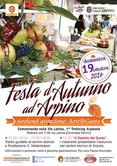 Festa d'autunno ad Arpino