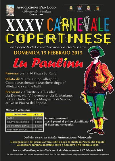 XXXV Carnevale Copertinese