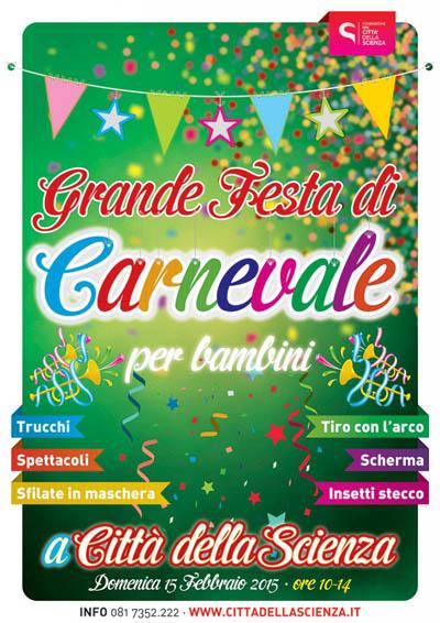 Grande Festa di Carnevale per bambini