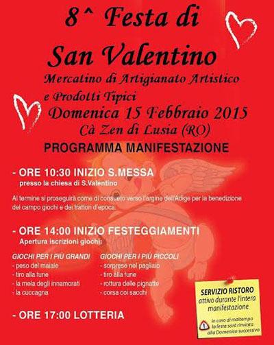 8^ Festa di San Valentino