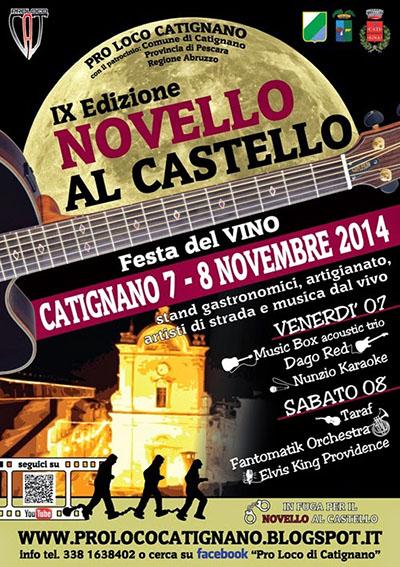 Novello al Castello, IX edizione