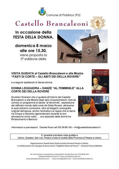 Festa della Donna al Castello Brancaleoni