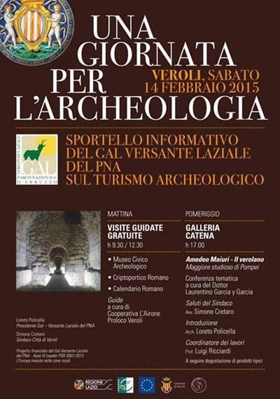 Una Giornata per l'Archeologia