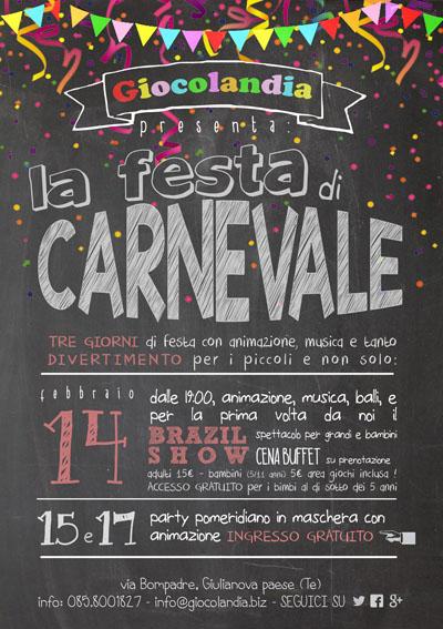 Carnevale a Giocolandia
