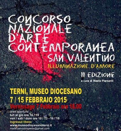 Concorso Nazionale d'Arte Contemporanea San Valentino
