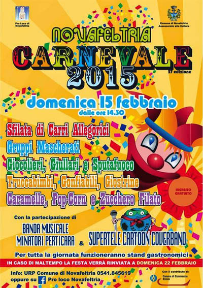 Carnevale a Novafeltria