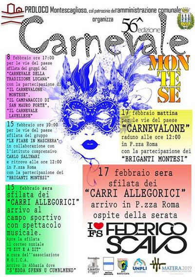 Carnevale a Montescaglioso