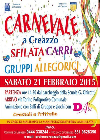 Carnevale a Creazzo