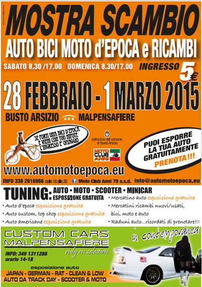 Mostra Scambio - Auto, Bici, Moto d'Epoca e Ricambi