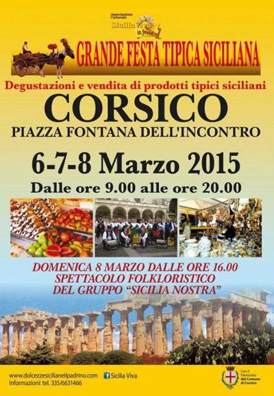 Grande Festa tipica Siciliana