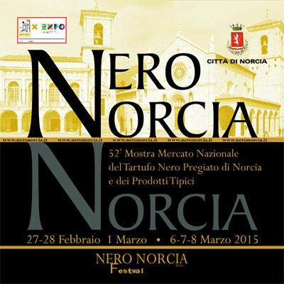 Nero Norcia 2015 - Mostra Mercato Nazionale del Tartufo Nero Pregiato di Norcia