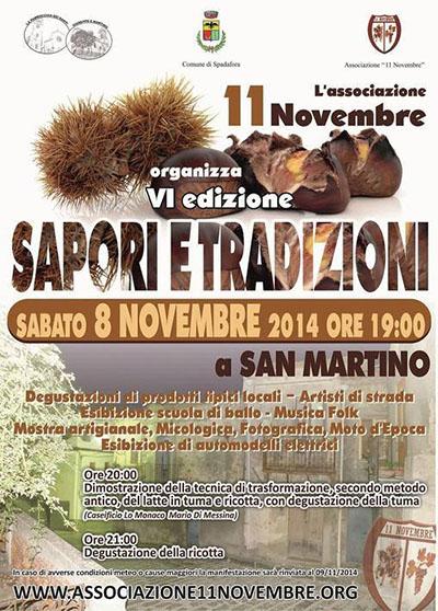 Sapori e Tradizioni a San Martino - VI edizione
