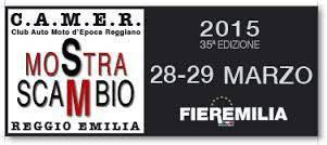 C.A.M.E.R. Mostra Scambio Club Auto Moto d'Epoca Reggiano