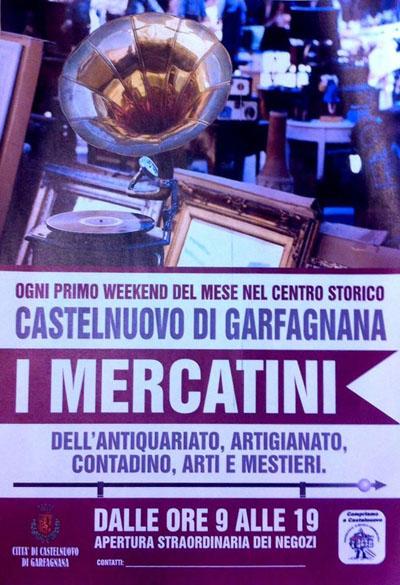 I Mercatini a Castelnuovo di Garfagnana