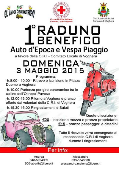 Raduno Benefico Auto d'Epoca e Vespa Piaggio