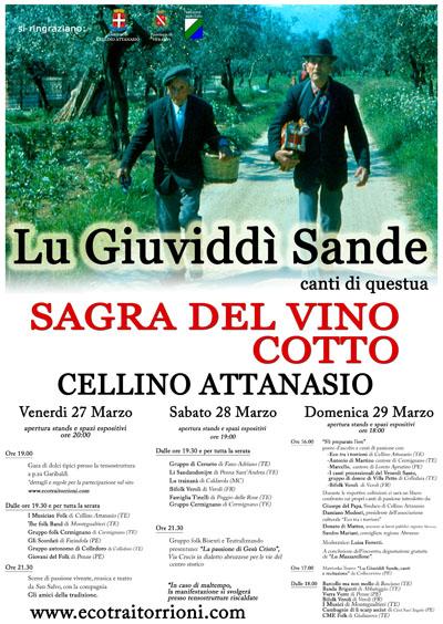 Lu Giuviddì Sande - La Sagra del Vino Cotto