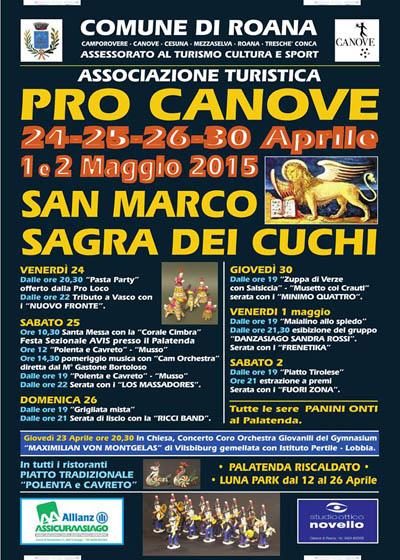 Sagra dei Cuchi - Festa di San Marco