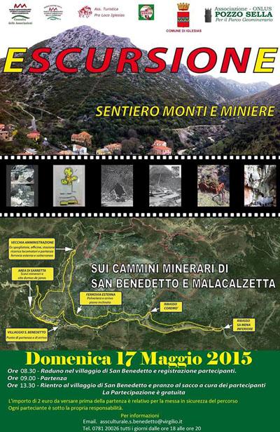 Escursione sui cammini minerari di San Benedetto e Malacalzetta