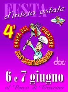Festa del Rigatone all'Amatriciana