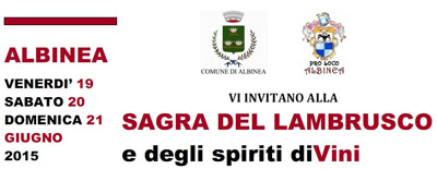 Sagra del Lambrusco e degli Spiriti diVini