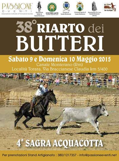 38^ Riarto dei Butteri e 4^ Sagra dell'Acquacotta