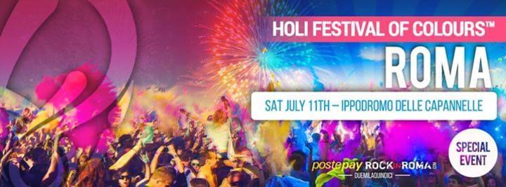 Holi Festival of Colours 2015 Roma