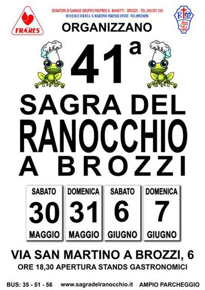 41^ Sagra del Ranocchio a Brozzi