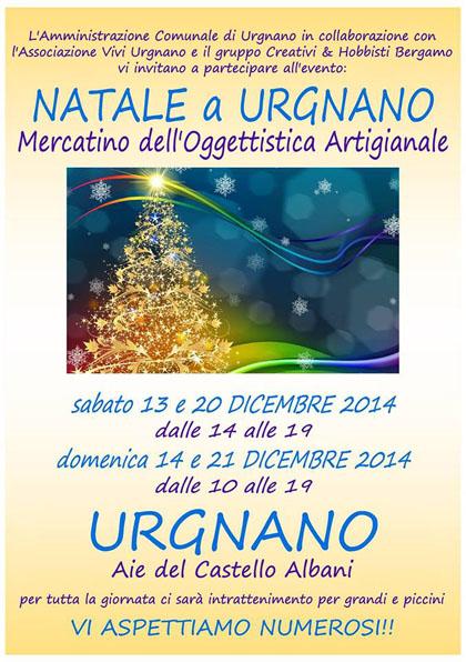 Mercatino dell'Oggettistica Artigianale a Urgnano (BG)
