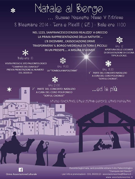 Natale al Borgo a Tora e Piccilli