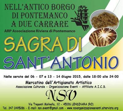 Sagra di Sant'Antonio a Pontemanco