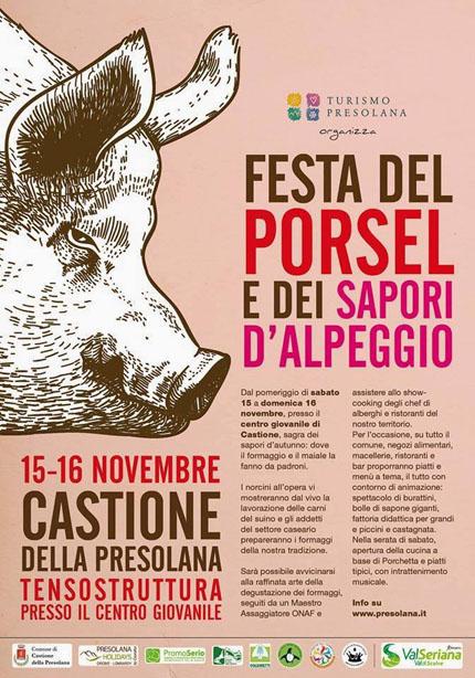 Festa del Porsel e dei Sapori d'Alpeggio