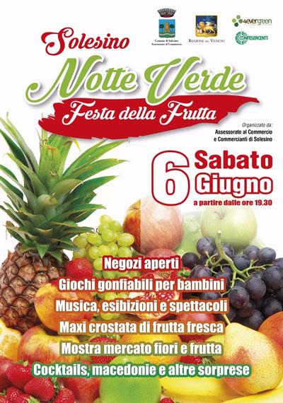 Festa della Frutta - Notte Verde