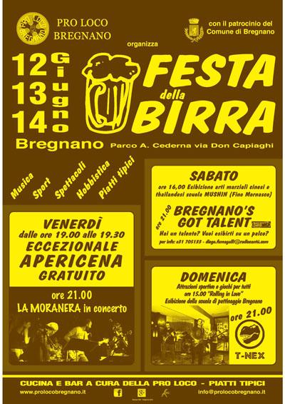 Festa della Birra a Bregnano
