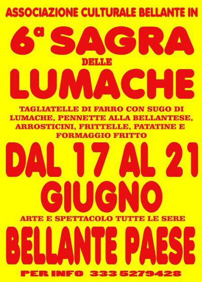 6^ Sagra delle Lumache