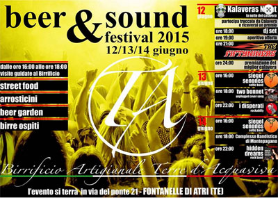 Beer & Sound a Fontanelle di Atri