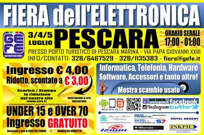 Fiera dell'Elettronica a Pescara