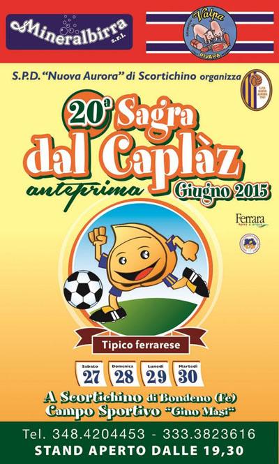 20^ Sagra dal Caplàz