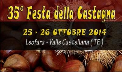 Festa della castagna a Leofara