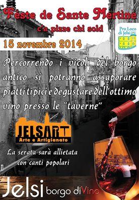 Festa di San Martine c'a Pizze chi sold a Jelsi
