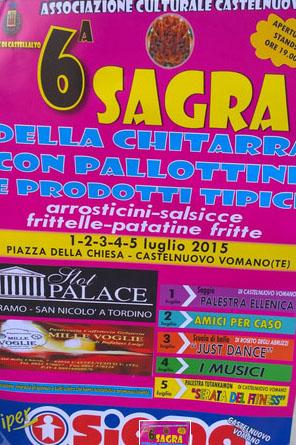 6^ Sagra della Chitarra con Pallottine