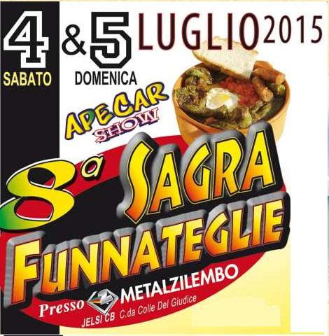 8^ Sagra Funnateglie e ApeCar Show