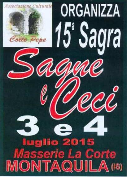 15^ Sagra Sagne e Ceci