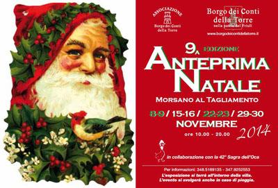 Anteprima Natale a Morsano al Tagliamento (PN)