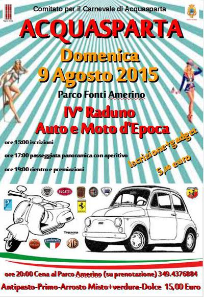 4^ Raduno Auto e Moto d'Epoca