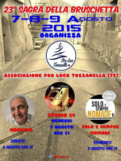 23^ Sagra della Bruschetta Tozzanella di Tossicia