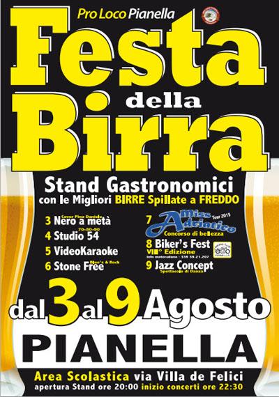 Festa della Birra a Pianella