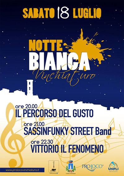 Notte Bianca a Vinchiaturo