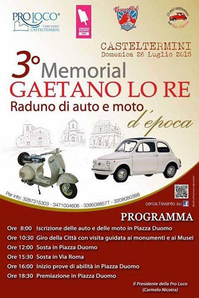 3^ Memorial Gaetano Lo Re